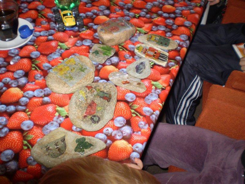 Malované kamínky (ubrousky)